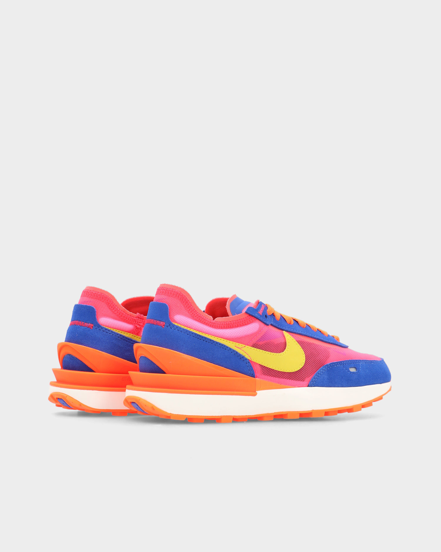 Nike Wmns Waffle One Racer blue/bright citron-hyper pink