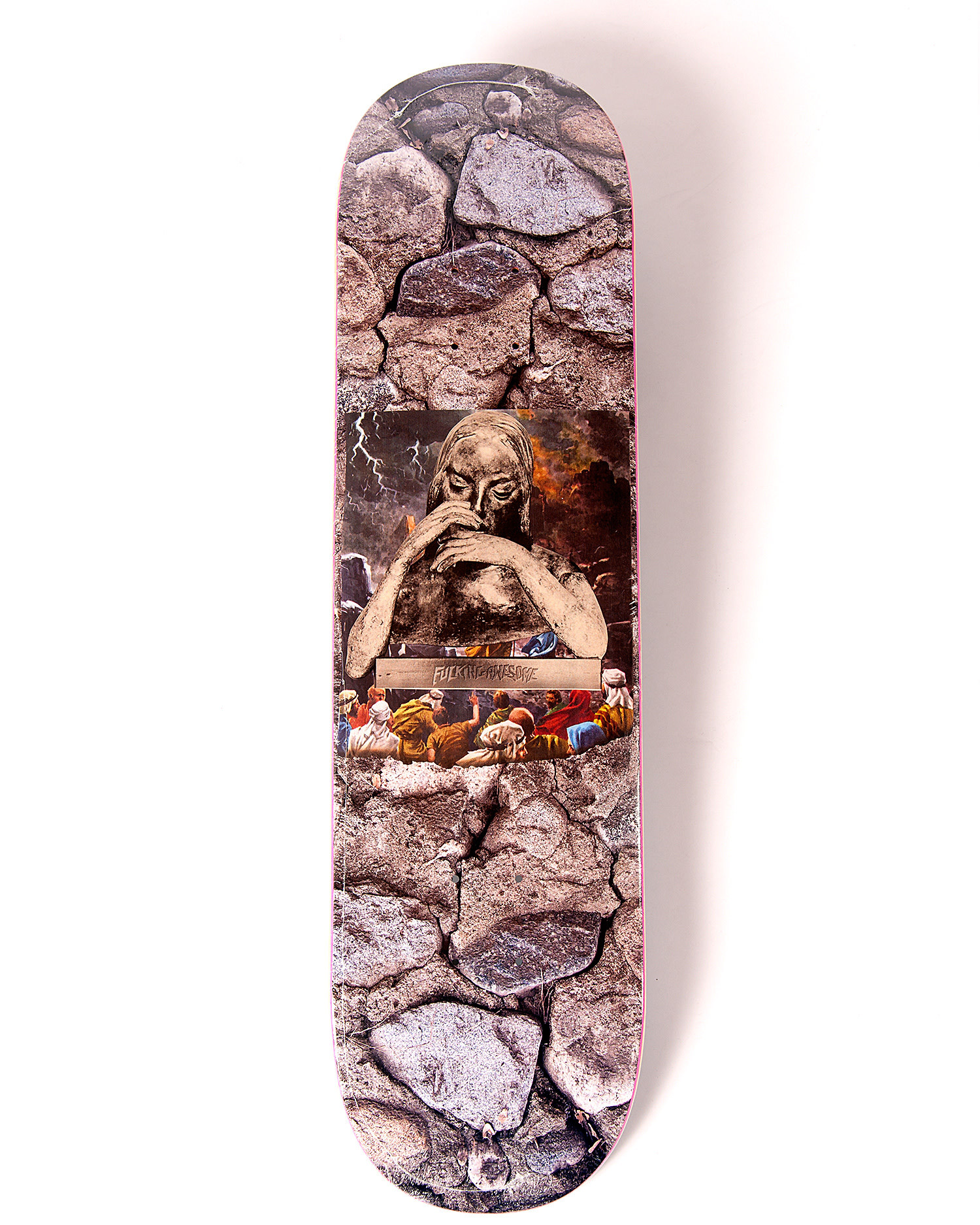Fucking Awesome Deck Gino Saint Mary Silver Foil 8.25