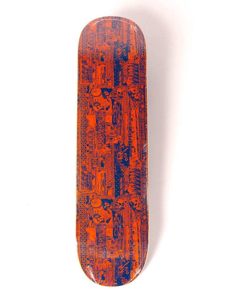 Fucking Awesome Fucking Awesome Deck Acupuncture Orange / Blue 8
