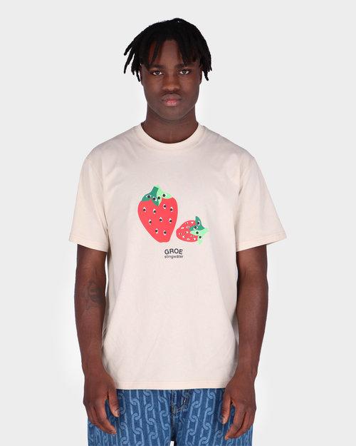 Stingwater Stingwater Speshal Strawberries T-Shirt Natural
