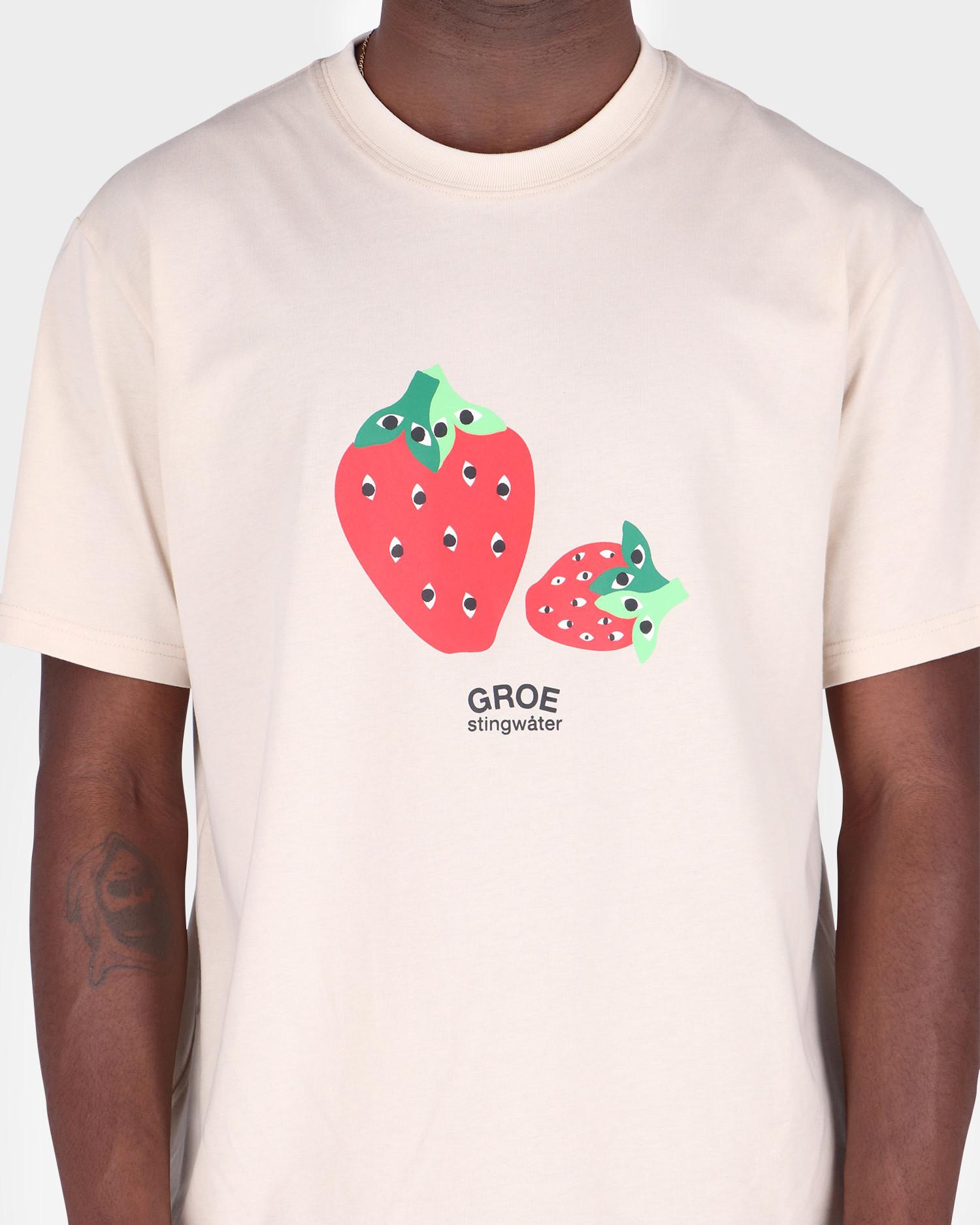 Stingwater Speshal Strawberries T-Shirt Natural