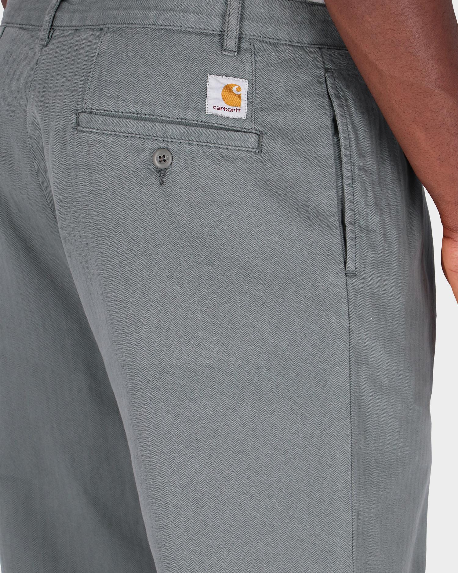 Carhartt Salford Pant Thyme Garment dyed no length