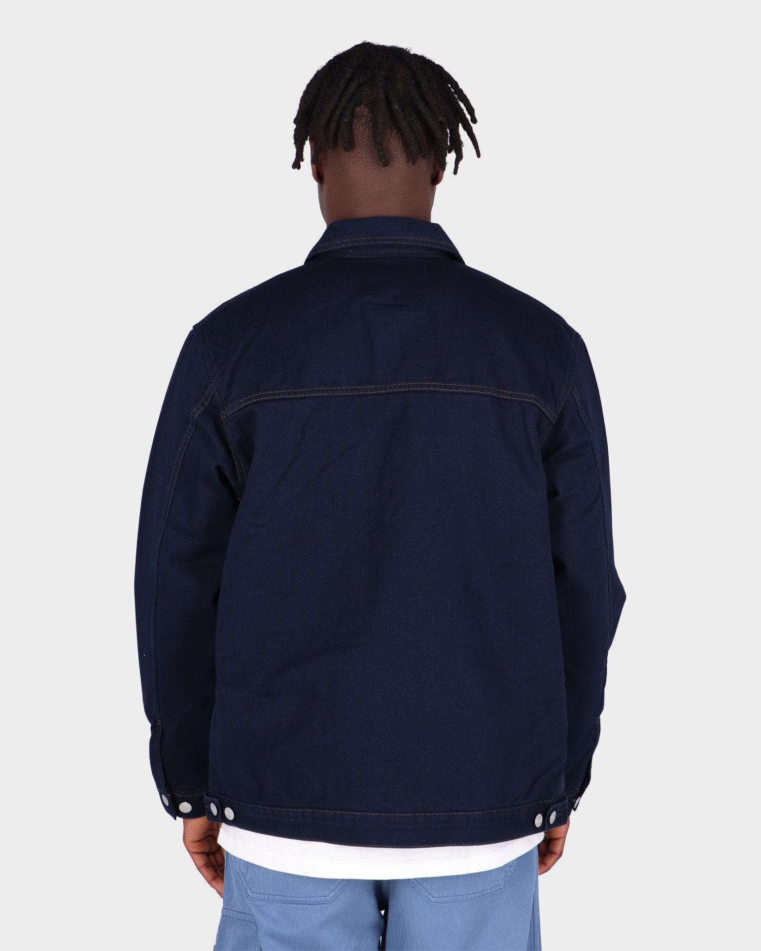 Carhartt Double Front Jacket Astro Rinsed