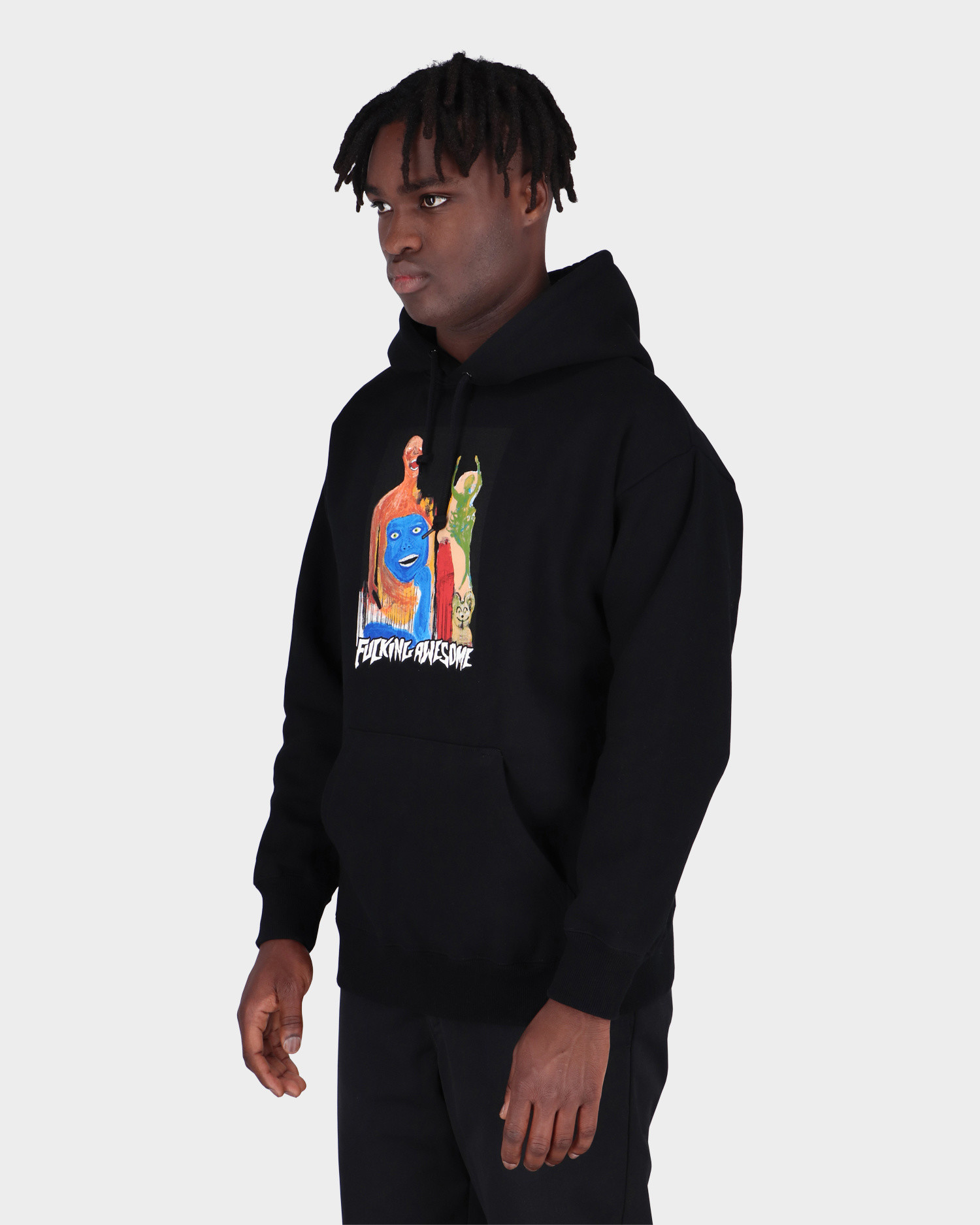 Fucking Awesome Dill Collage Ii Hoodie Black