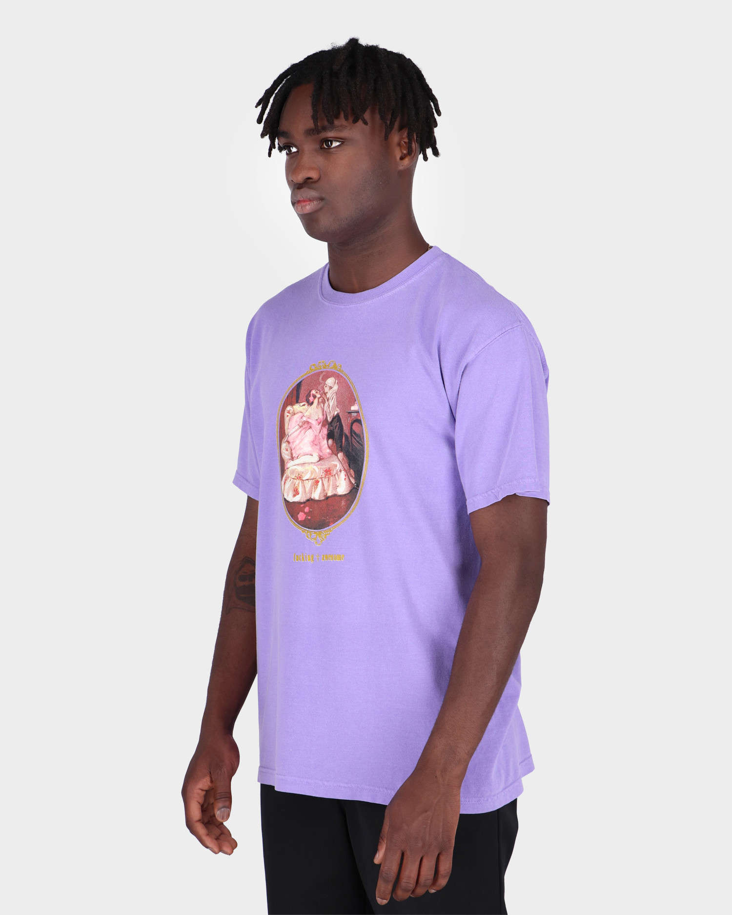 Fucking Awesome Liaison Tee Orchid