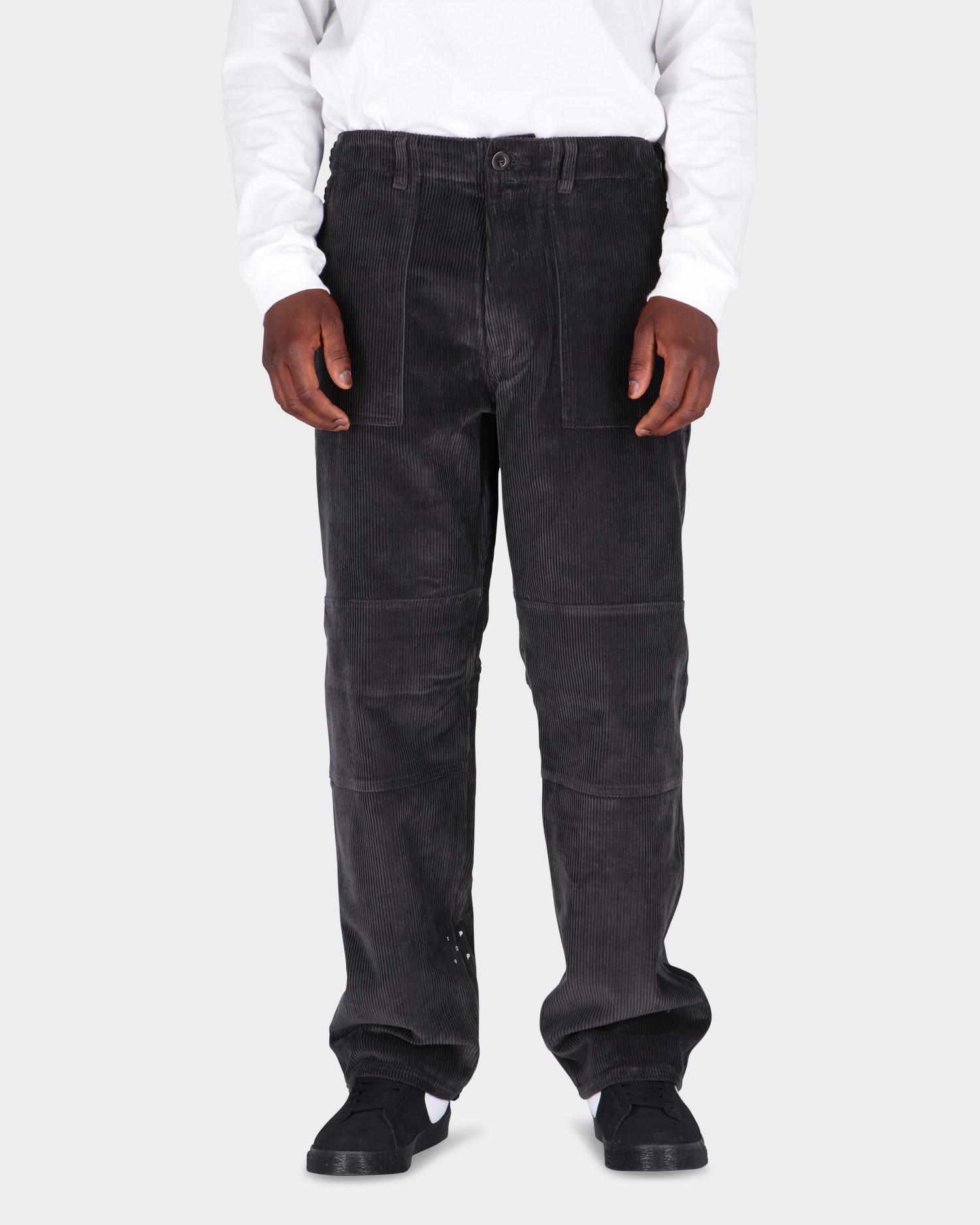 Pop Trading Co Phatigue Farm Pants Charcoal