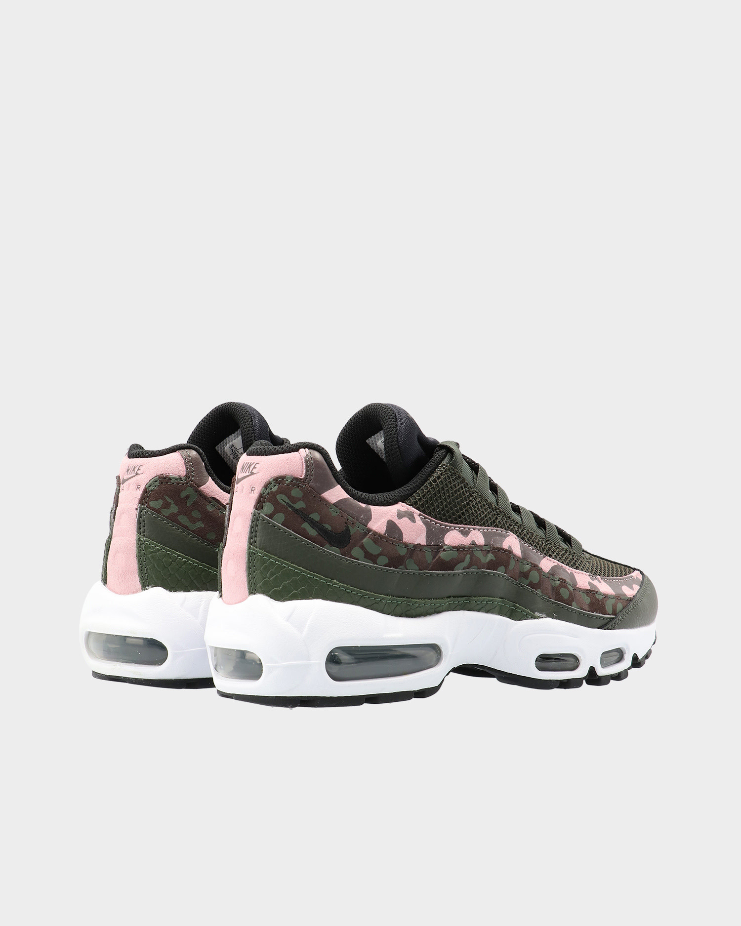 Nike Wmns Air Max 95 Brown Basalt/Black-Sequoia-Pink Glaze