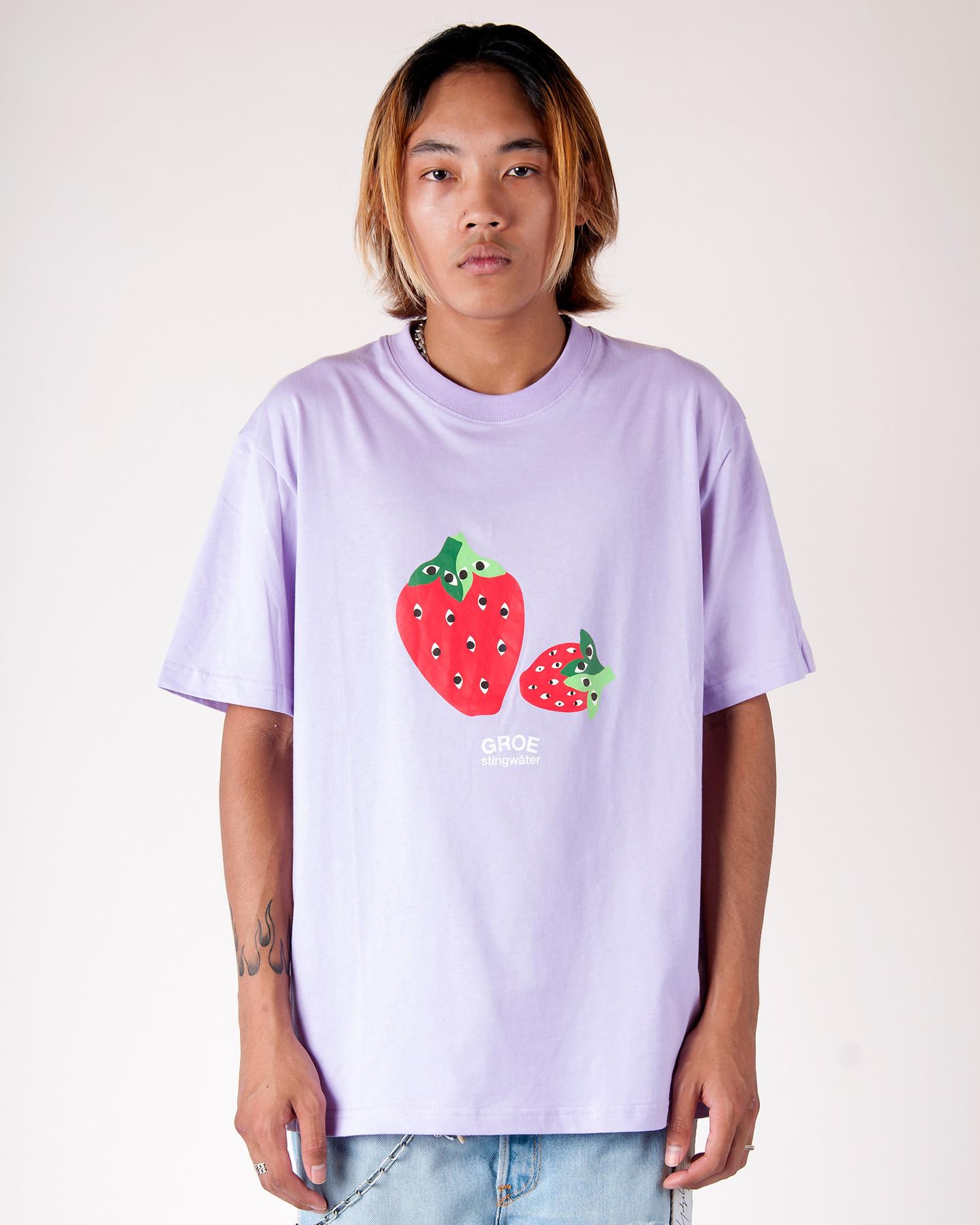 Stingwater Speshal Strawberries T-Shirt BB Purple