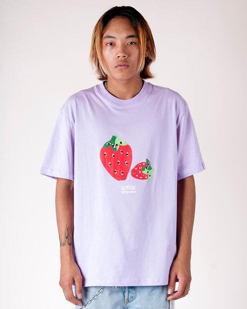 Stingwater Stingwater Speshal Strawberries T-Shirt BB Purple