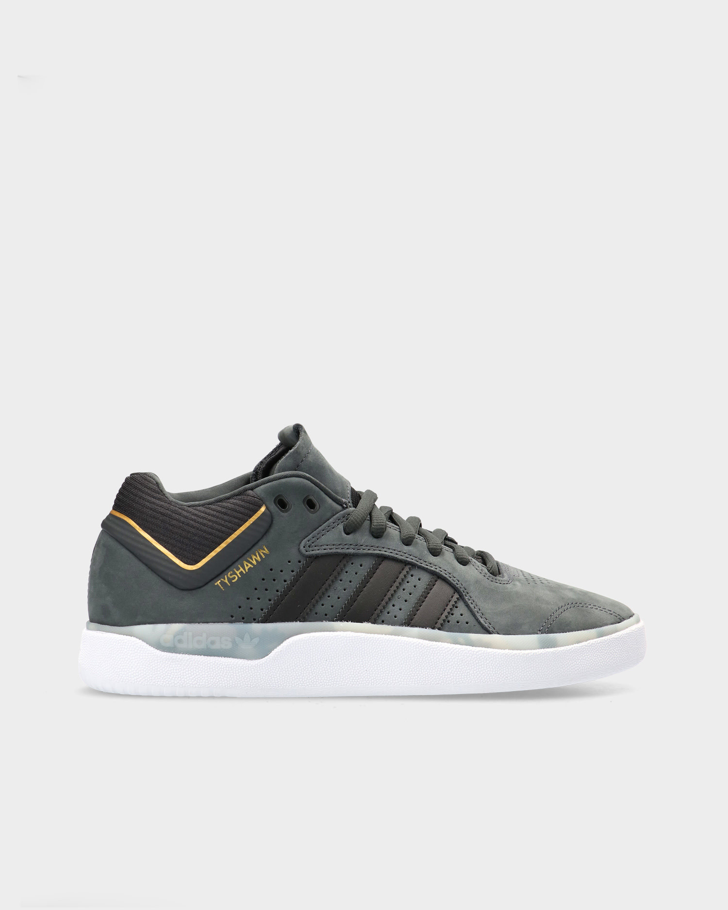 Adidas Skateboarding Tyshawn Carbon/Cblack/Goldmt