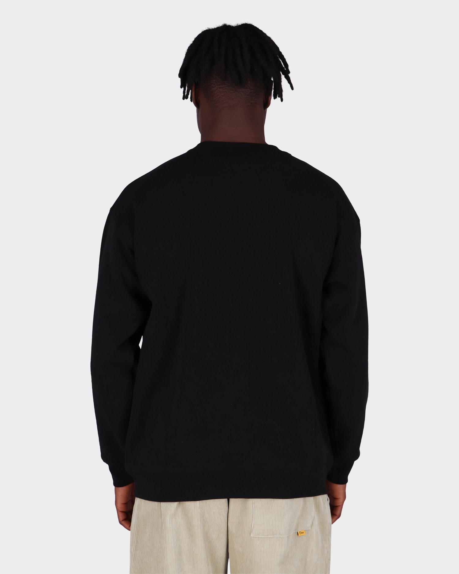 Dime Big Logo Crewneck Black