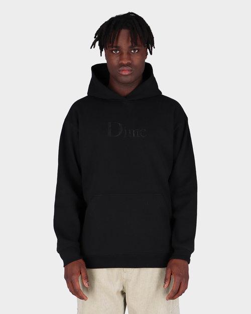 Dime Dime Big Logo Hoodie Black