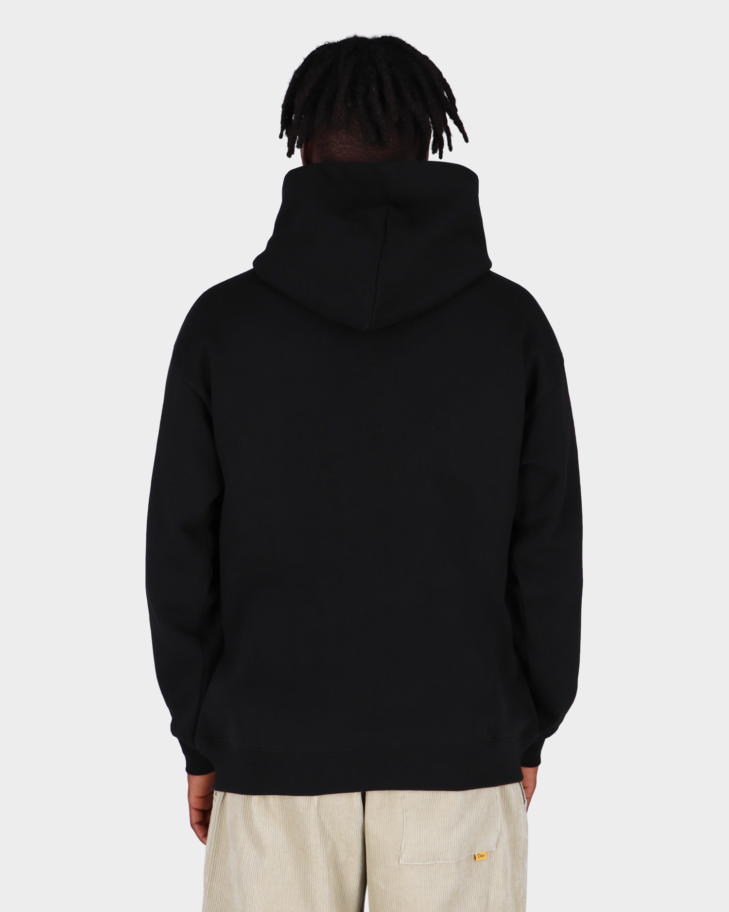 Dime Big Logo Hoodie Black