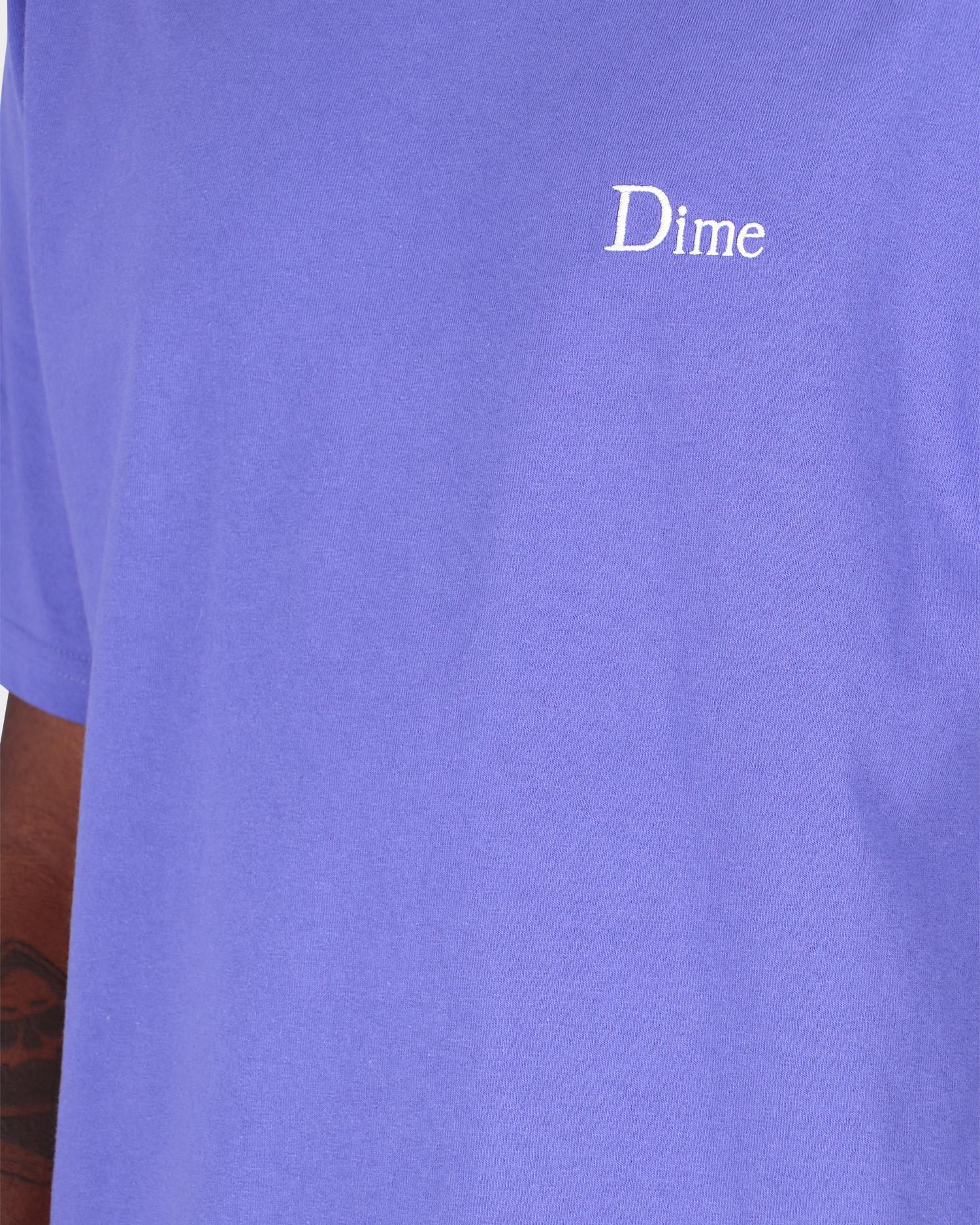 Dime Little Logo T-Shirt Iris