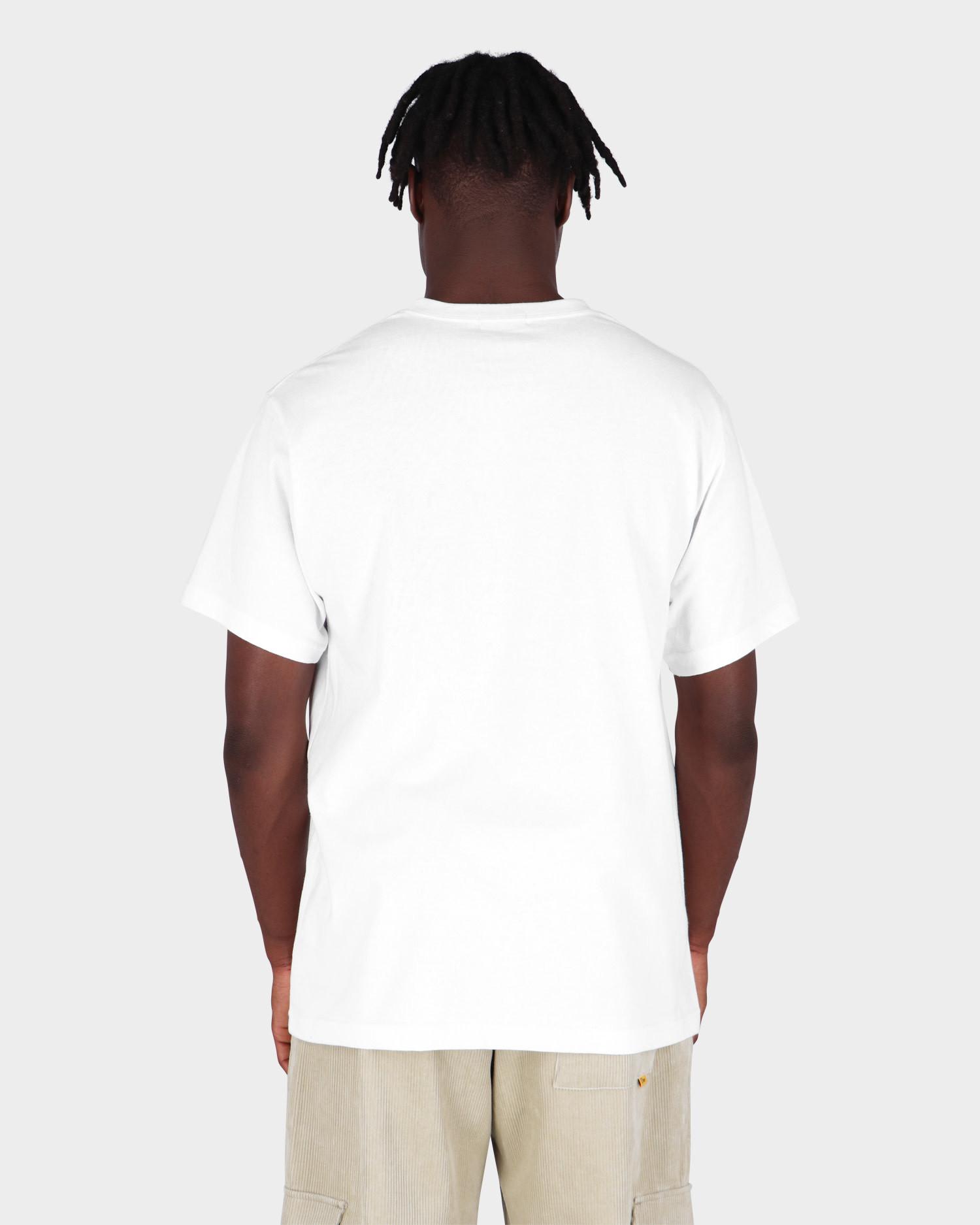 Dime Carpet T-Shirt White