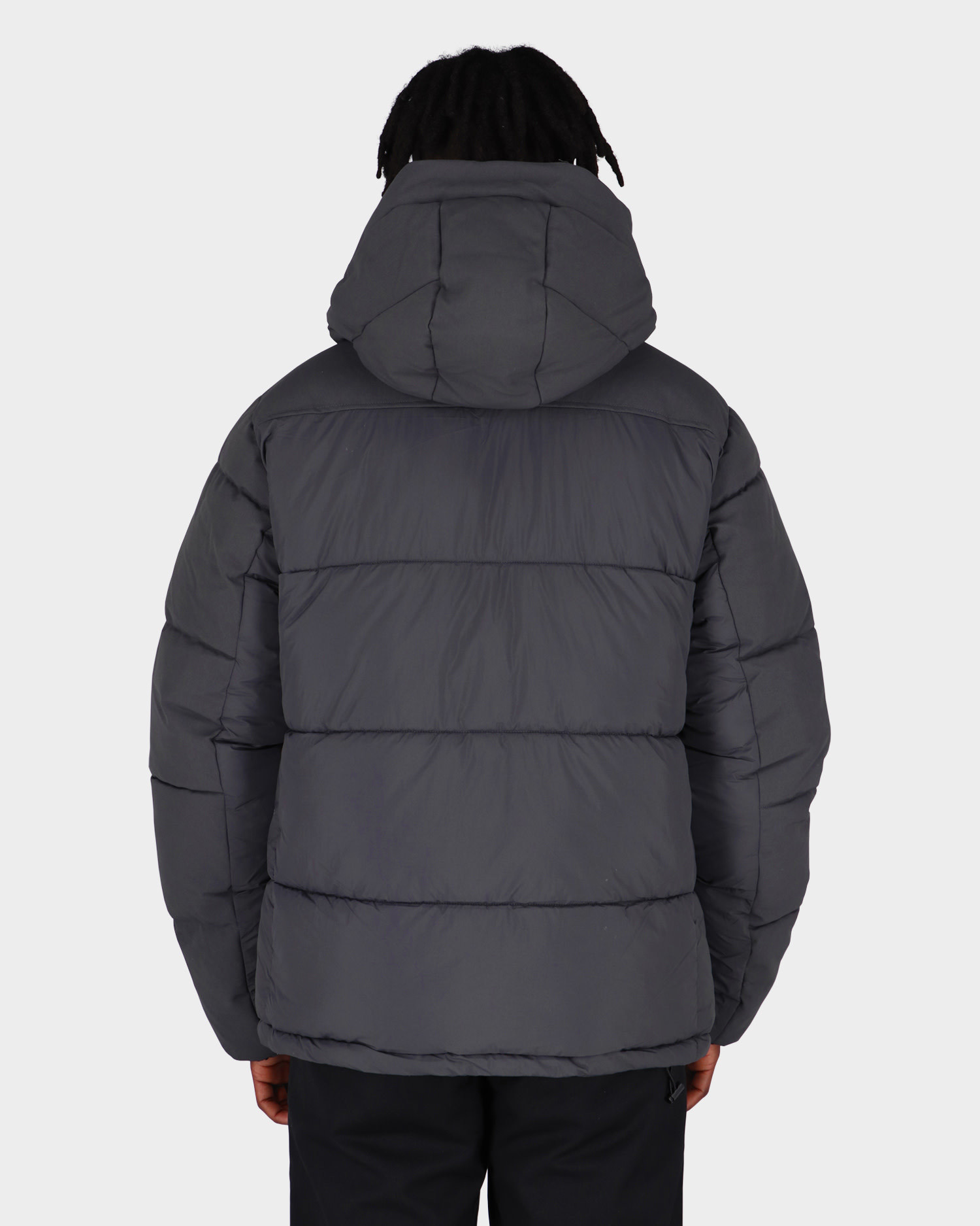 Pop Trading Co Alex Padded Jacket Charcoal