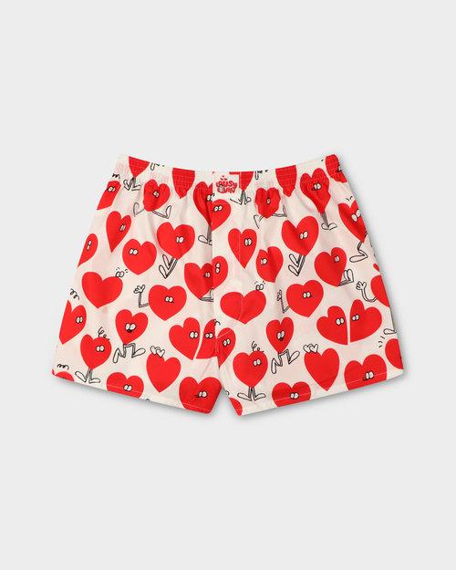 "Lousy Livin Lousy Livin ""Valentines"" Boxershort White"