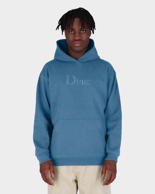 Dime Dime Big Logo Hoodie Real Teal