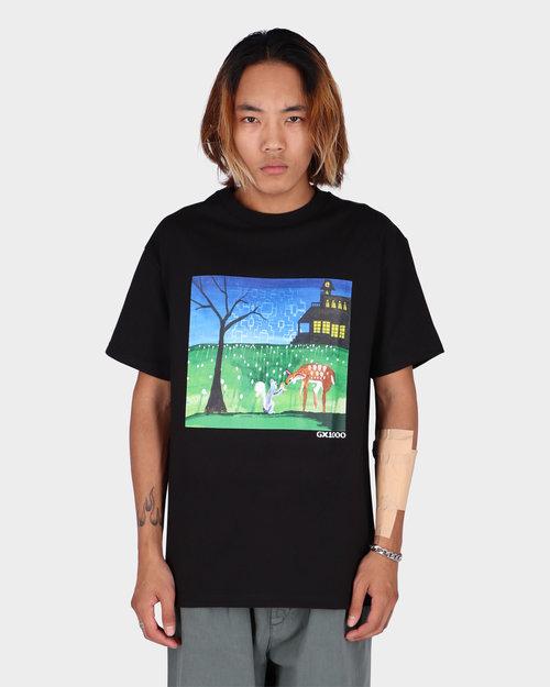 GX1000 GX1000 Sharing With Friends  t-shirt Black