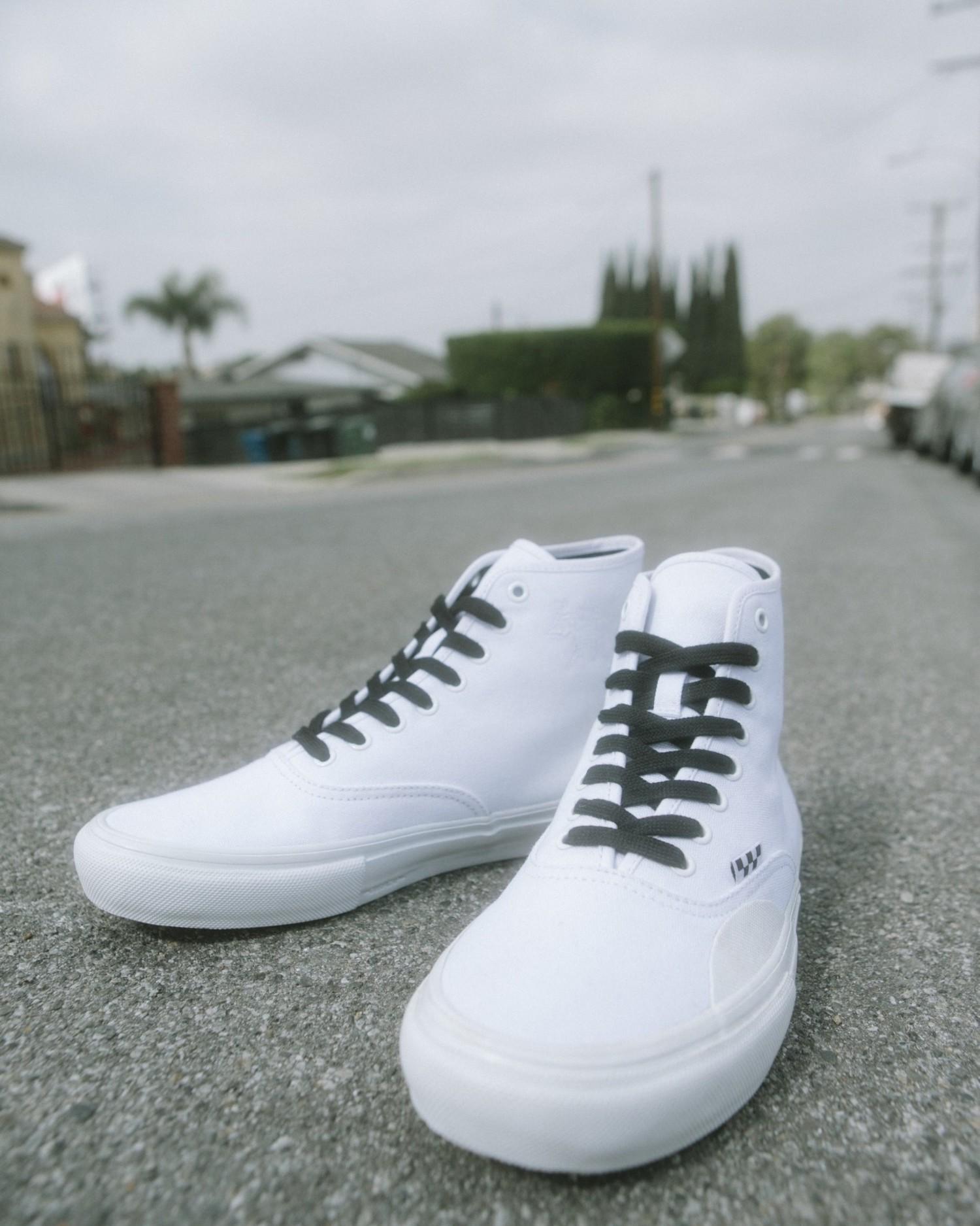 Vans Skate Authentic High LTD (ANDREW ALLEN) WHT/HOCKEY