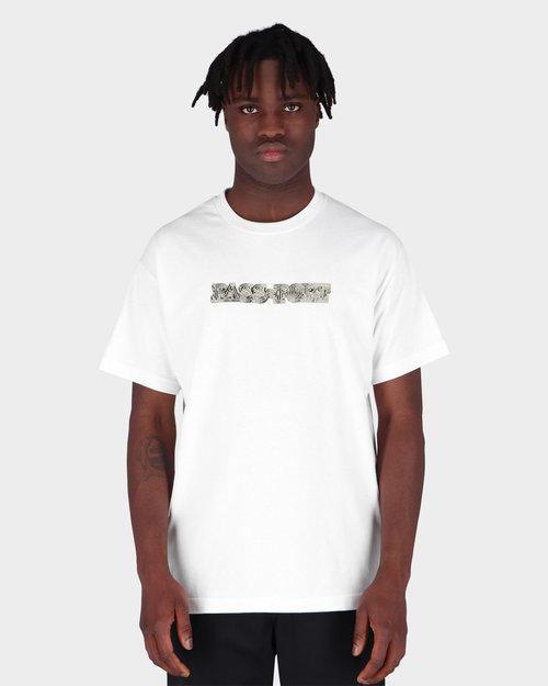 Passport Passport Head Maze T-shirt White