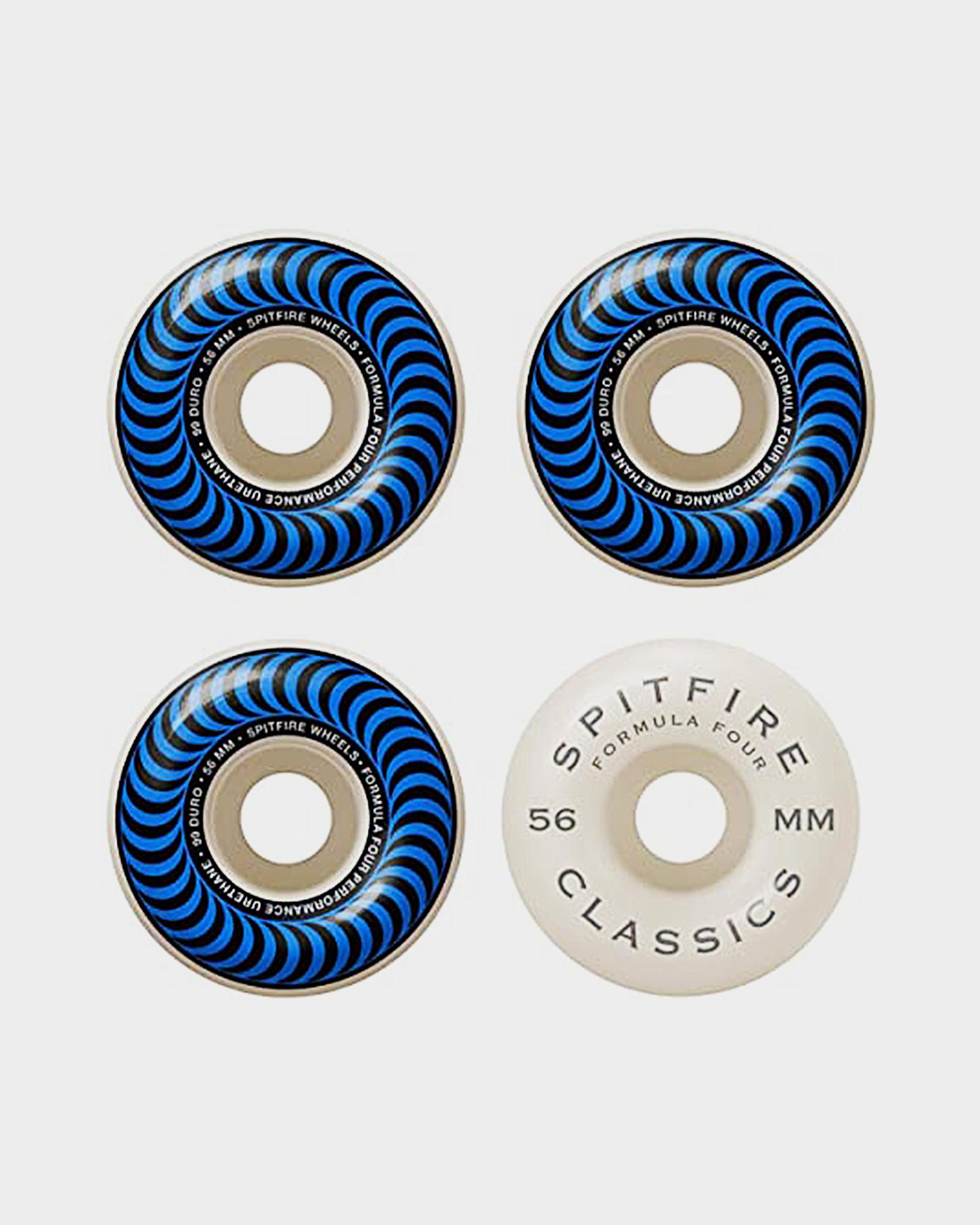 Spitfire Wheels F4 99 Classic Blue 56mm