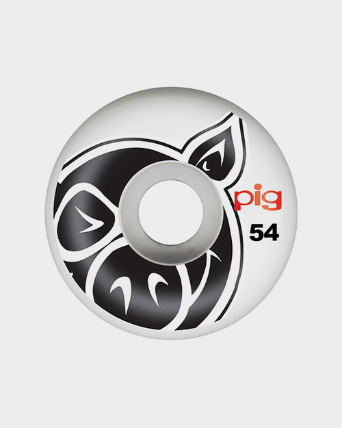 Pig Wheels Pig Head nat Wheels 54mm