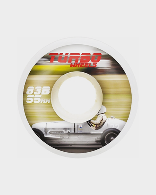 Antiz Antiz Turbo Monza Wheels White 55mm 83B