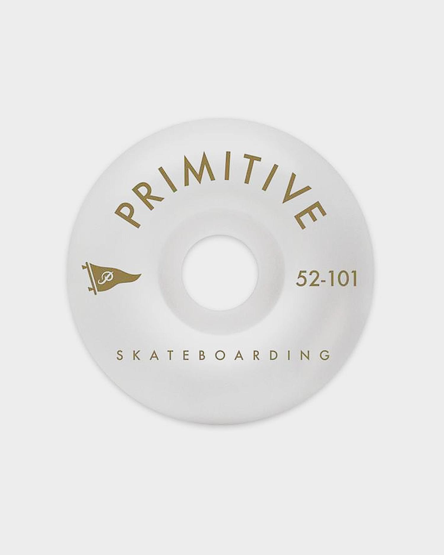 Primitive Wheels Pennant Arch Team Wheel White