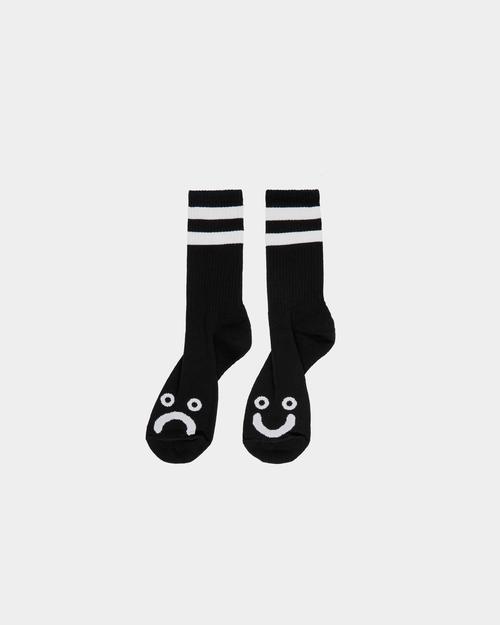 Polar Polar Happy Sad Socks Black