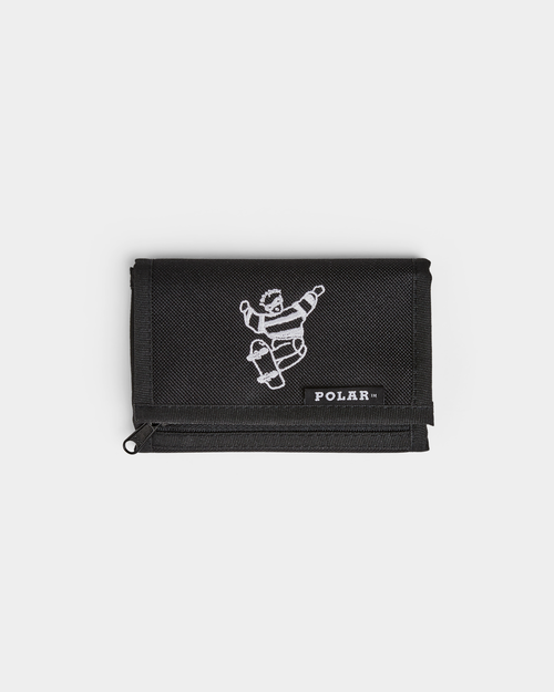 Polar Polar Skate Dude Key Wallet Black