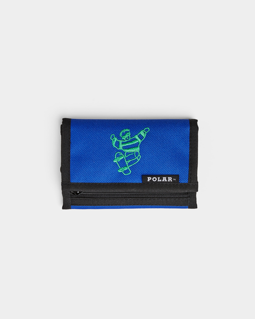 Polar Polar Skate Dude Key Wallet Blue