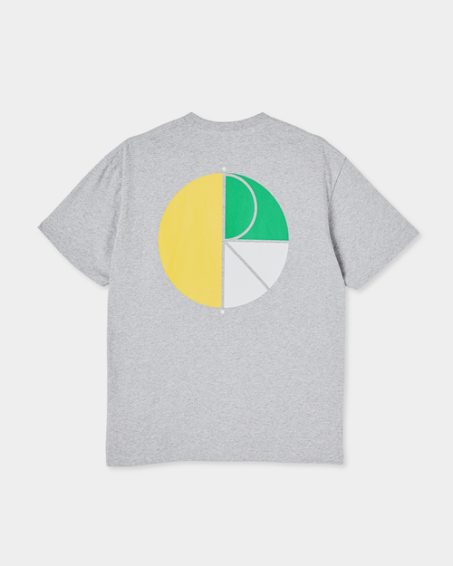 Polar Polar 3 Tone Fill Logo Tee Sport Grey