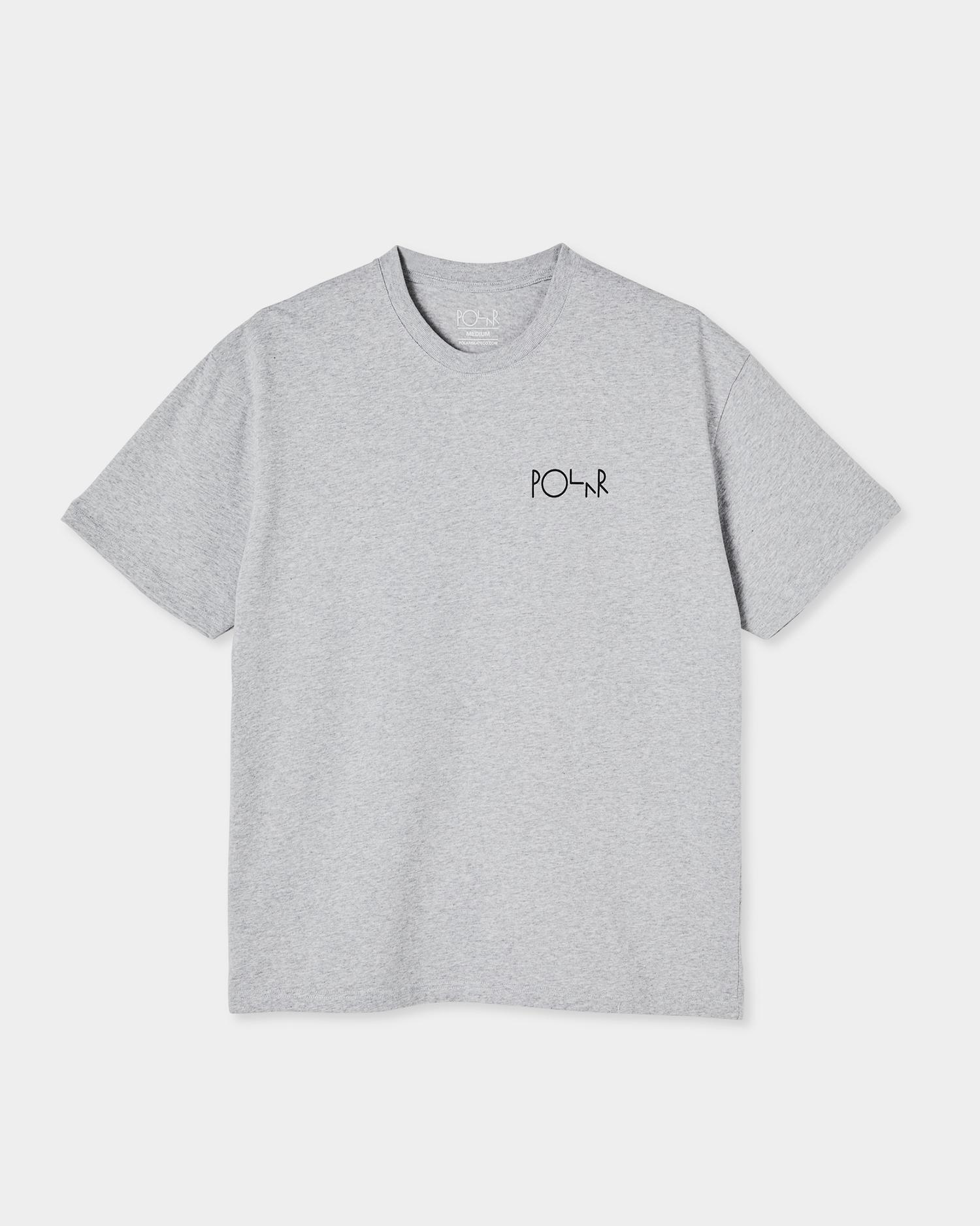 Polar 3 Tone Fill Logo Tee Sport Grey