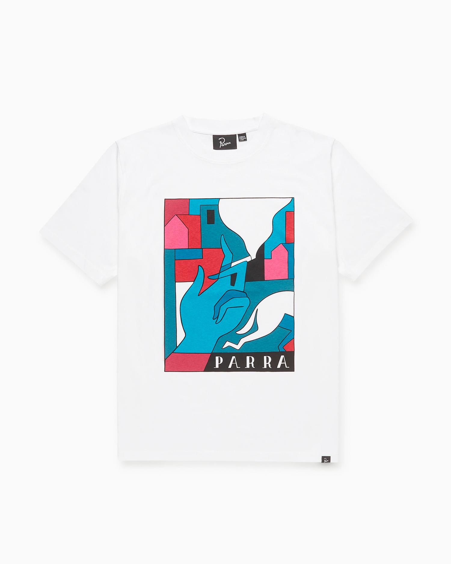 Parra Bad Habits T-Shirt White