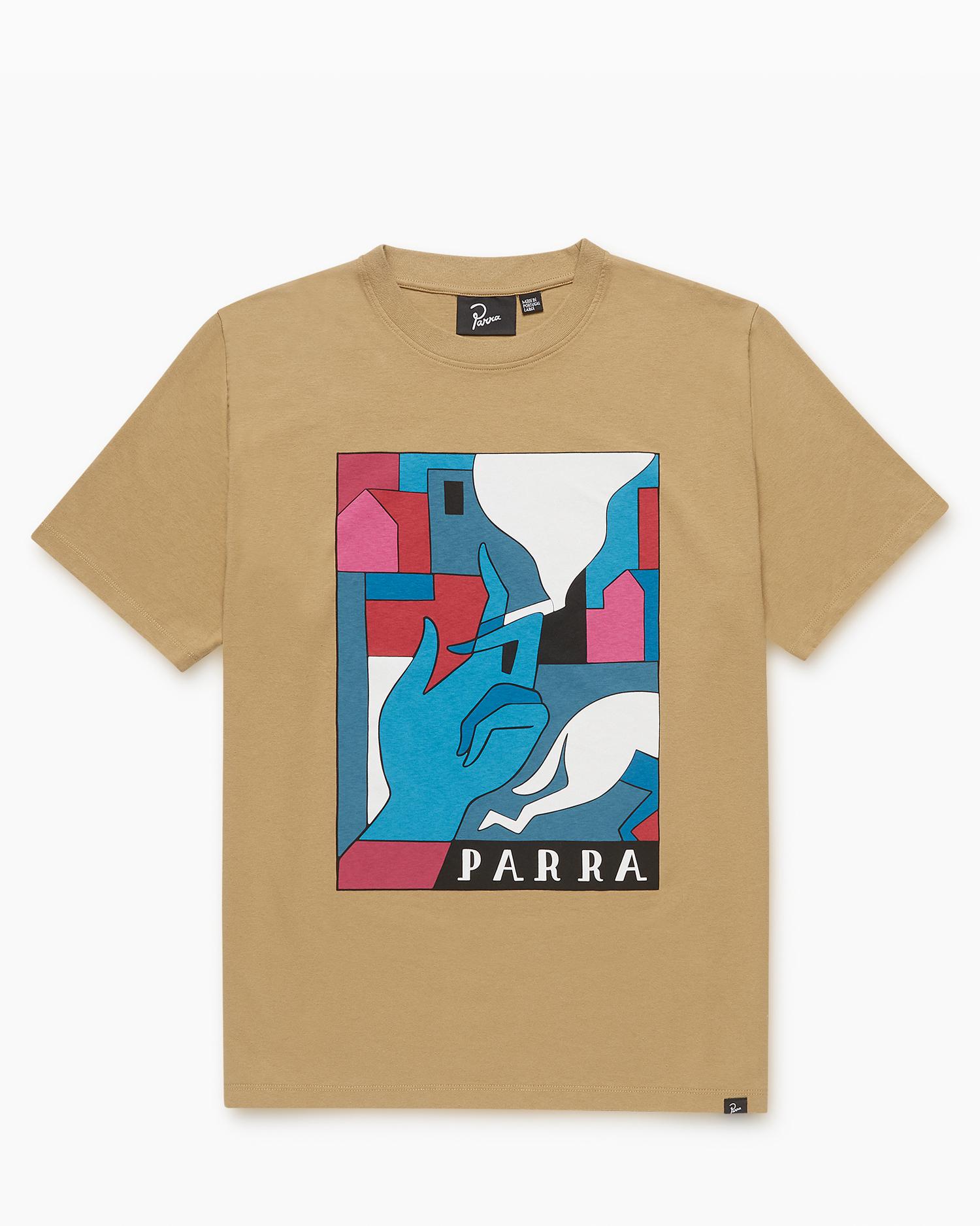 Parra Bad Habits T-Shirt Camel