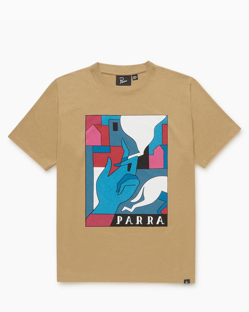 Parra Parra Bad Habits T-Shirt Camel