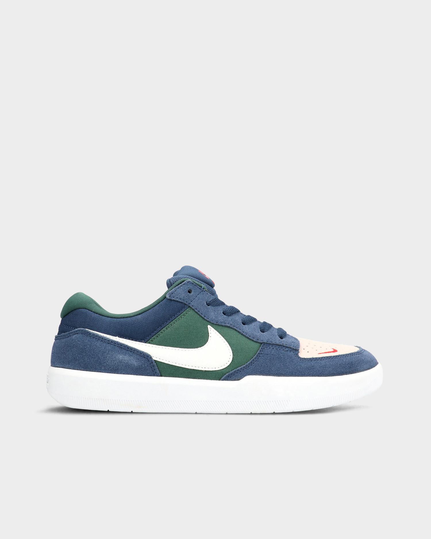 Nike SB Force 58 Navy/Summit White/Noble Green White