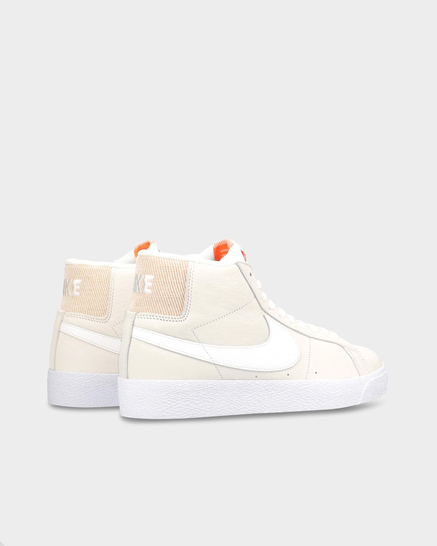 Nike SB Zoom Blazer Mid White/White-White-Summit White