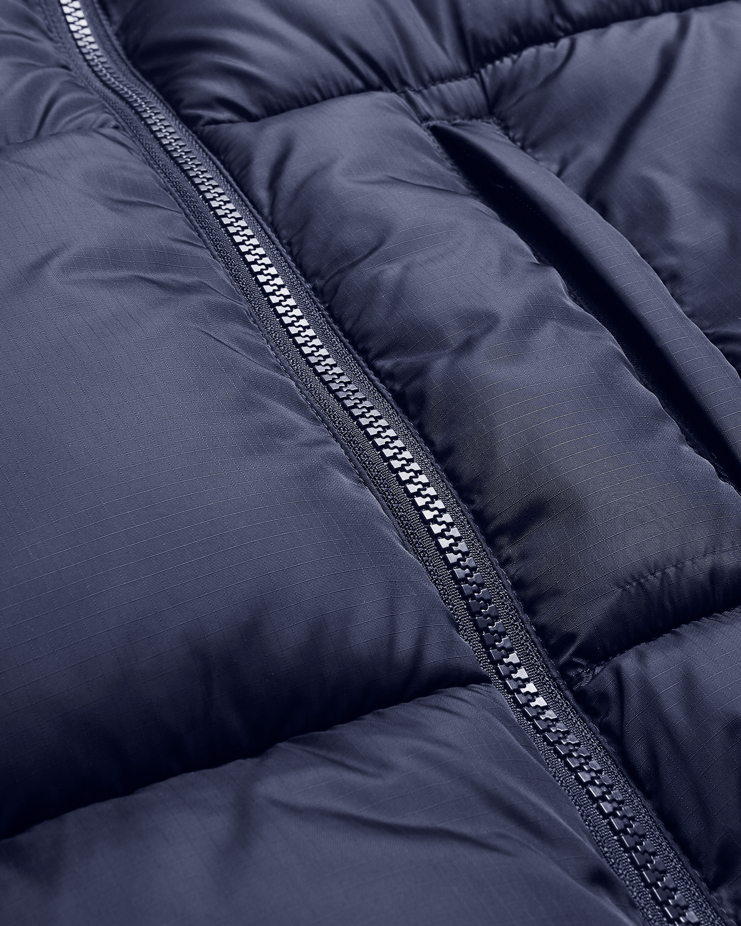 Parra Gem Stone Puffer Jacket Navy Blue