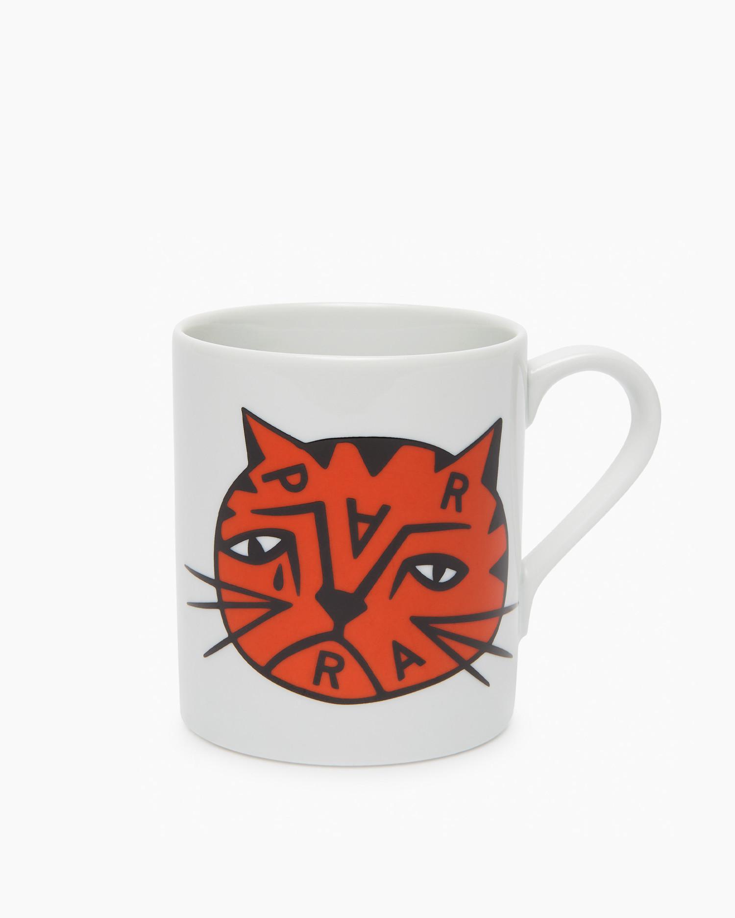 Parra Sad Cat Mug White