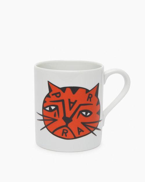 Parra Parra Sad Cat Mug White