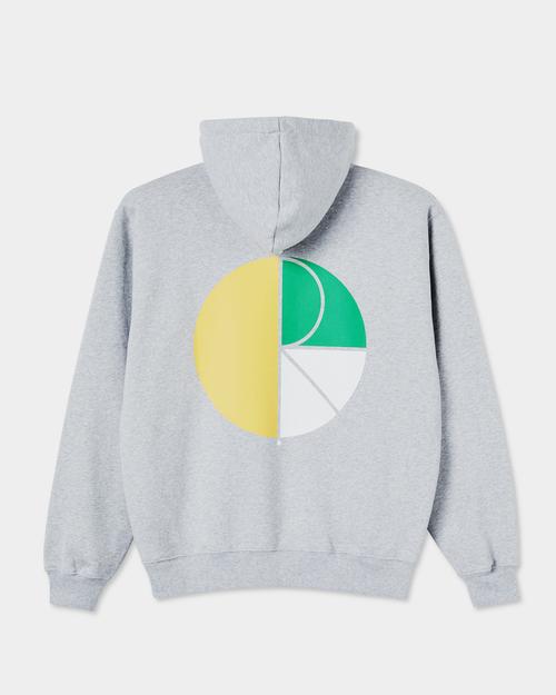 Polar Polar 3 Tone Fill Logo Hoodie Sport Grey