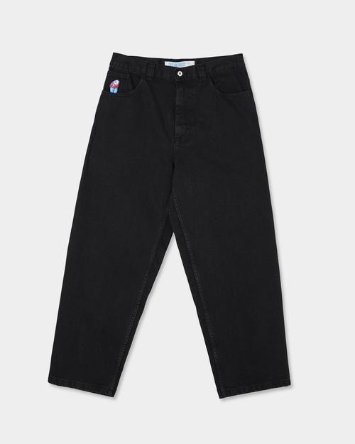 Polar Polar Big Boy Jeans Pitch Black
