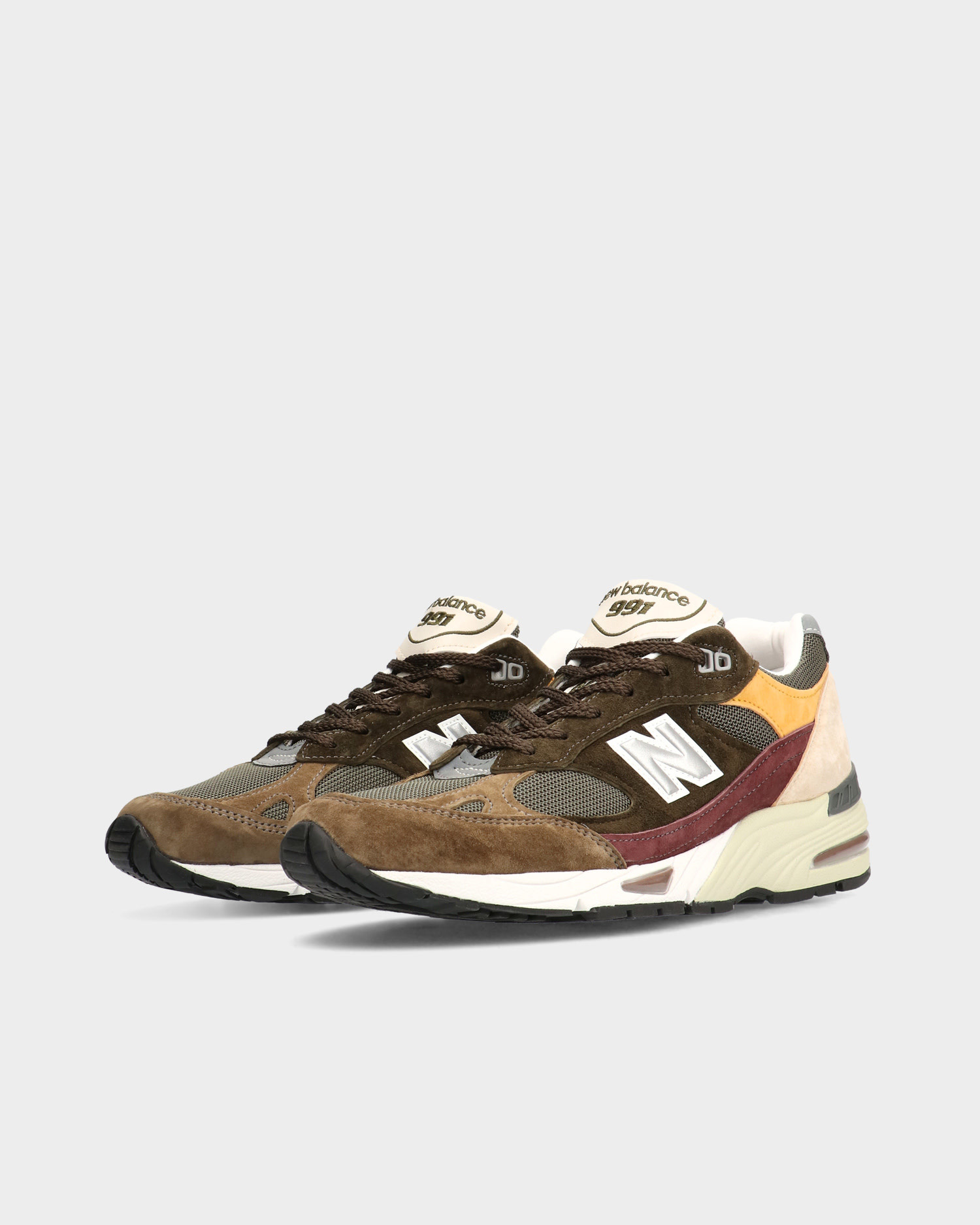 New Balance M991GYB Made in England Desaturated Pack Green/Yellow/Brown