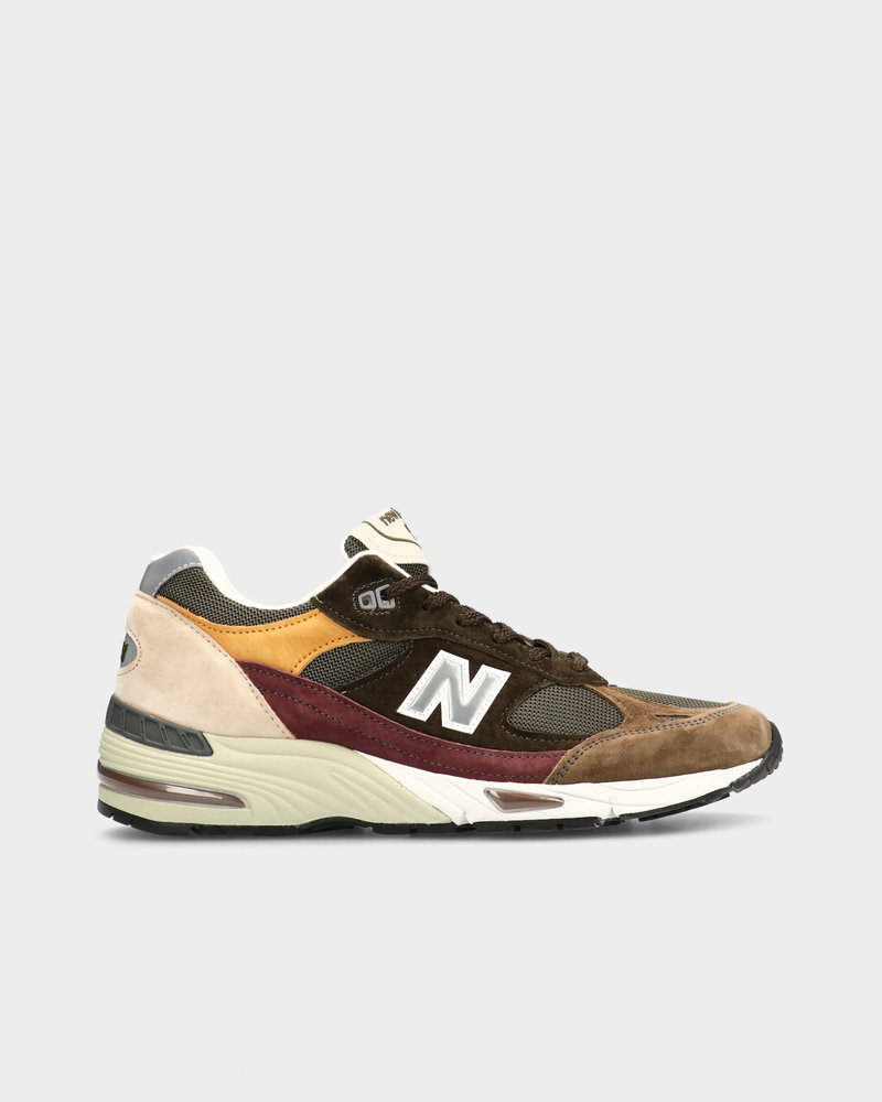 New Balance New Balance M991GYB Made in England Desaturated Pack Green/Yellow/Brown