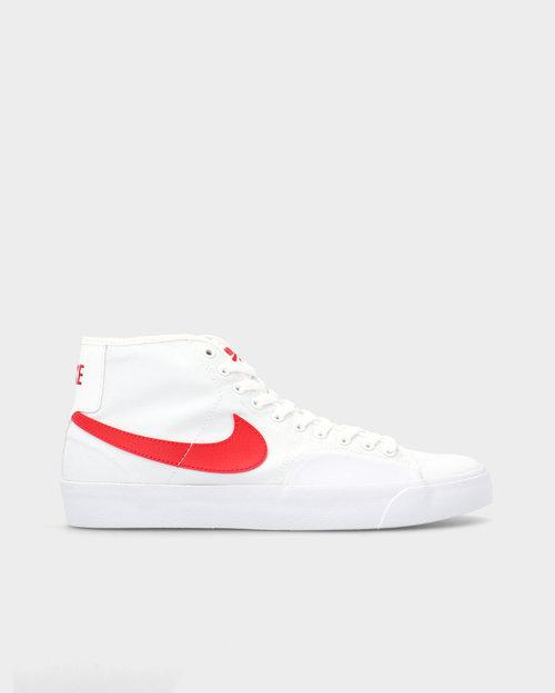 Nike Nike SB Blazer Court Mid White/University Red