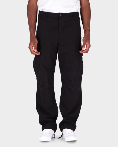 Carhartt Carhartt Regular Cargo Pant Black Garment Dyed