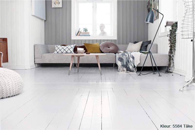 Houten vloer verven verfadvies kleuren stappenplan