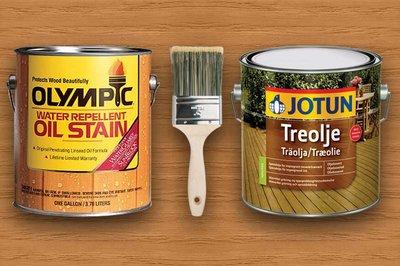 Voorkeur Olympic Water Repellent Oil Stain Overschilderen XA15